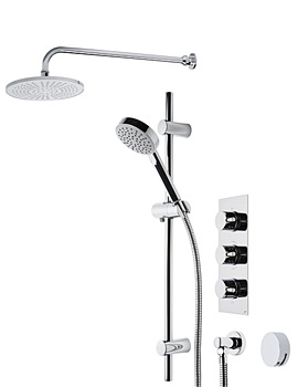 Related Roper Rhodes Event Triple Control Shower System 22 - SVSET22
