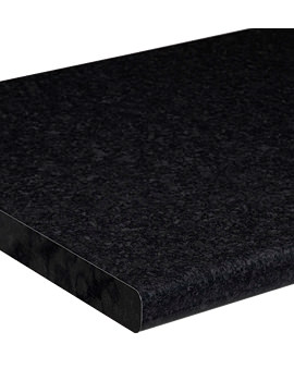 Roper Rhodes Laminate 3000mm Worktop Black Granite - F3W30.BG