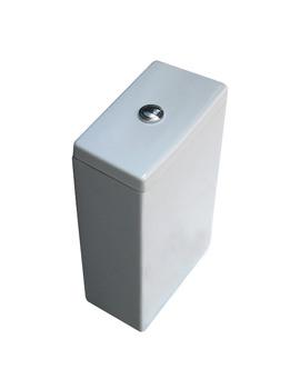 Bauhaus Modest Dual Flush Cistern For Close Coupled WC - MO7005CW