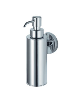 Aqualux Haceka Kosmos Metal Soap Dispenser Chrome - 1123068