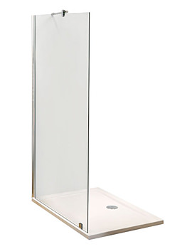 Lauren Wetroom Shower Screen 1200 x 1850mm - WRS12