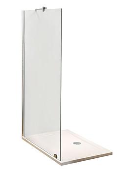 Lauren Wetroom Shower Screen 1400 x 1850mm - WRS14