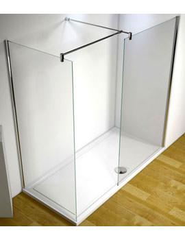 Ultimate 1700mm Left Hand Corner Walk-In Shower Enclosure