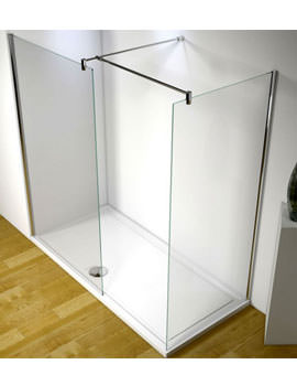 1700mm RH Walk-In Corner Shower Enclosure - 5WICRHNV17