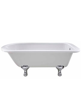 Lauren Berkshire Single Ended Freestanding Bath 1700 x 750mm - RL1707T