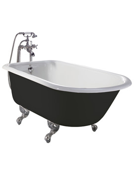 Wessex Cast Iron Roll Top Bath With Feet - BRT01 - BRT02