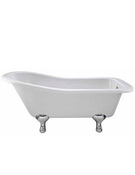 Lauren Kensington Slipper Freestanding Bath 1500 x 730mm - RL1490T