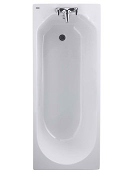 Option Rectangular 1700 x 700mm Bath - OT8500WH