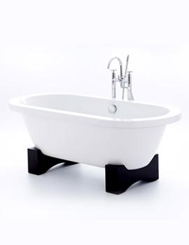 Royce Morgan Akita Double Ended Bath 1675 x 790mm- Dark Oak