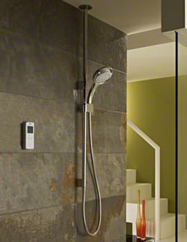 Mira Vision BIV Ceiling Fed High Pressure Digital Mixer Shower