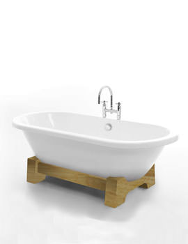Royce Morgan Osaka Double Ended Bath 1750 x 790mm - Light Oak