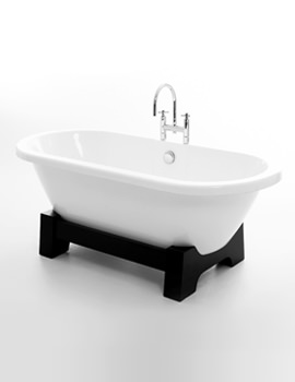 Osaka Double Ended Bath 1750 x 790mm - Dark Oak