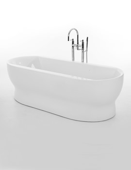 Camber Double Ended Freestanding Bath 1800 x 795mm
