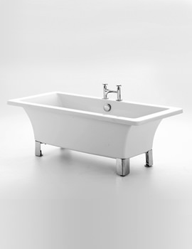 Clarence Freestanding Bath 1690 x 745mm With Chrome Feet