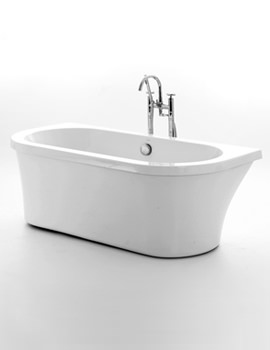 Kirkstall Back To Wall Freestanding Bath 1680 x 780mm