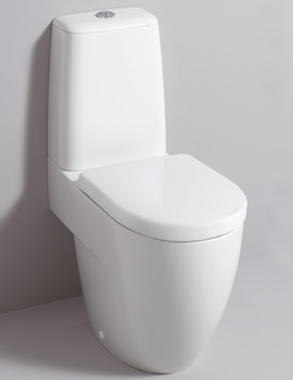 Image of Twyford 3D 680mm Close Coupled WC Suite With Standard Seat