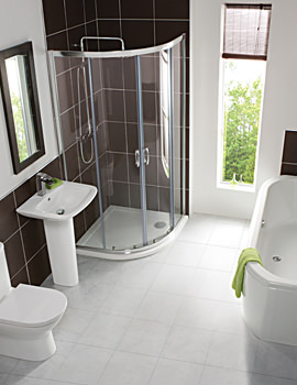 Balterley Inspire White Finish Bathroom Suite