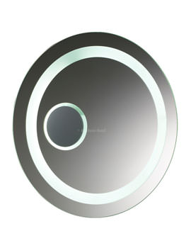 Oracle 600mm Motion Sensor Backlit And Magnifying Mirror