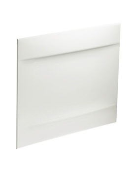 Twyford Callisto Galerie 700mm White Bath End Panel - GN7122WH