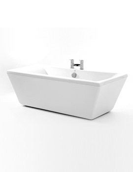 Chiswick Double Ended Freestanding Bath 1680 x 740mm