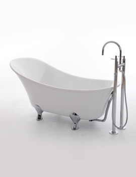 Kingswood Single Ended Slipper Bath 1750 x 740mm