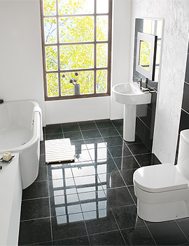 Balterley Delight White Contemporary Bathroom Suite