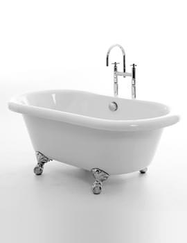 Miami Double Ended Bath 1525 x 780mm With Feet