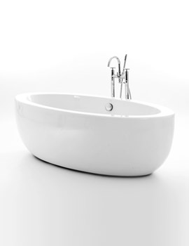 Westminster Double Ended Freestanding Bath 1490 x 850mm