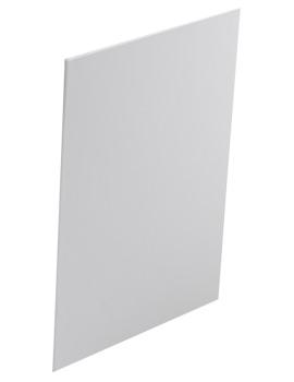 Twyford Indulgence Offset 500mm White Bath End Panel - ID7162WH
