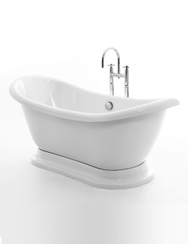 Melrose Double Ended Bath 1700 x 700mm With Plinth