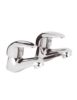 Related Beo Encore Pair Of Basin Taps Chrome - PF301