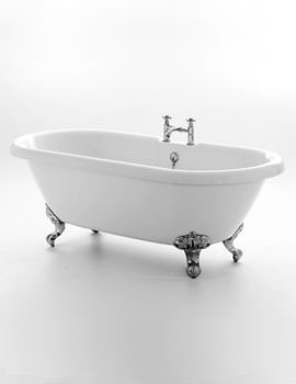 Kensington Freestanding Double Ended Bath 1695 x 740mm