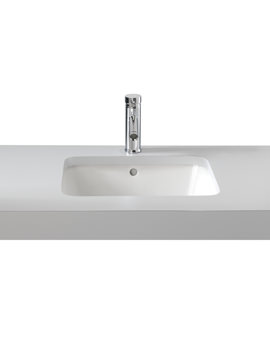 Image of Twyford Moda Under Countertop Washbasin 460 x 410mm - MD4510WH
