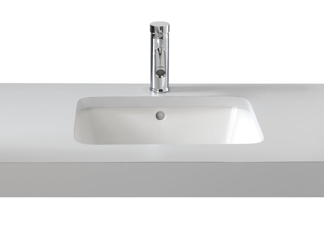 Large Image of Twyford Moda Under Countertop Washbasin 460 x 410mm - MD4510WH