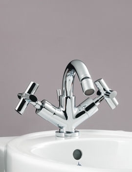 Highgrove Monobloc Bidet Mixer Tap With Pop Up Waste - JBRHIG200