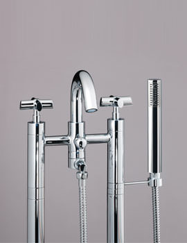 Highgrove Bath Shower Mixer Bridge Tap - JBRHIG302