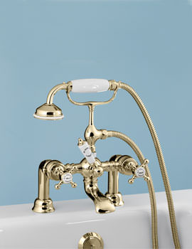 Victorian Incalux Bath Shower Mixer Tap - VCTBTBSDINC