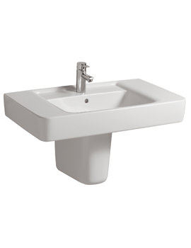 Galerie Plan 1 Centre Tap Hole Washbasin 850 x 480mm