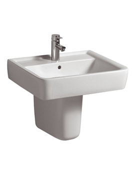 Galerie Plan Washbasin 600 x 480mm - GL4211WH