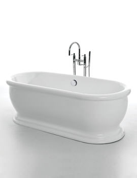 Royce Morgan Traditional Aldo Double Ended Bath 1745 x 790mm