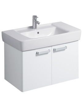 Galerie Plan Furniture Unit And Washbasin 850mm