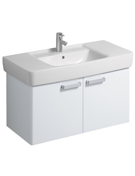 Twyford Galerie Plan Underbasin Furniture Unit And Basin 1000mm