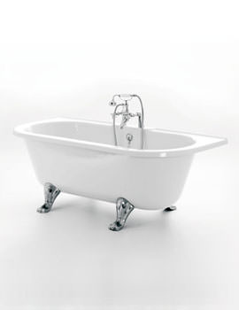 Balmoral Double Ended Bath 1680 x 730mm With Feet