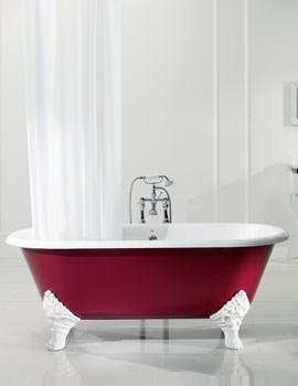 Mark Anthony Roll Top Bath 1780 x 800mm With Primed Feet