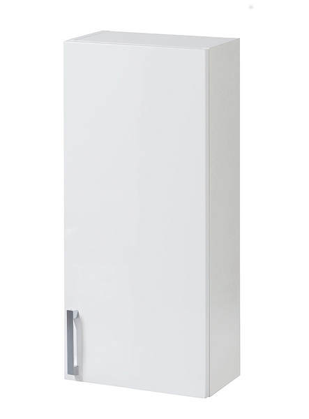 image of balterley euro white gloss 300mm wall cabinet byfwg3w