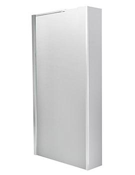 Balterley 1010mm Wetroom Screen With 250mm Single Return Panel