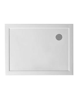 Hydrastone Low Profile Shower Tray 1000 x 800mm - NTP013