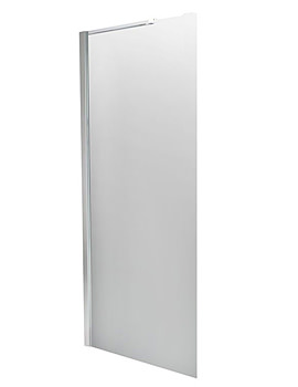 Balterley 800mm Straight Wetroom Screen With Single Support Arm