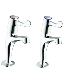 Sola High Neck Lever Action Pillar Taps - SF2403CP