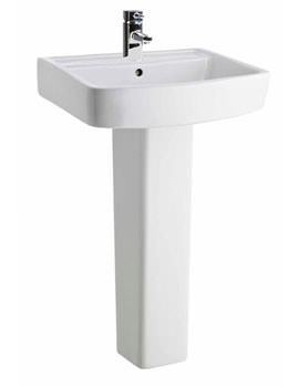 Related Lauren Ambrose 520mm 1 Tap Hole Basin And Full Pedestal